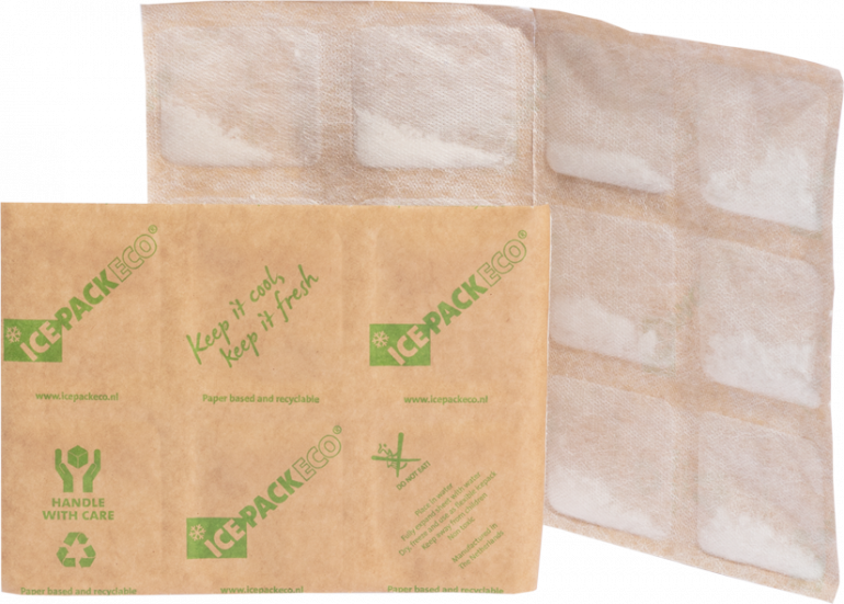 Ice Pack ECO environmentally friendly shipping